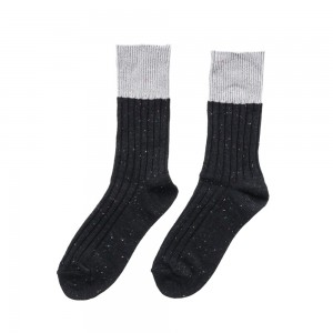 Men Stripe Crew Socks