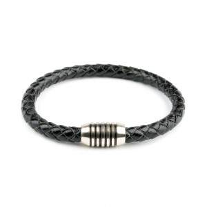 Men Ettika Leather Bracelet