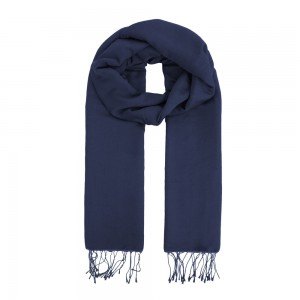 Men Frayed Scarf