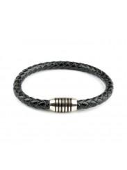 Men Ettika Leather Bracelet