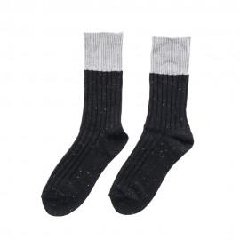 Men Stripe Crew Socks