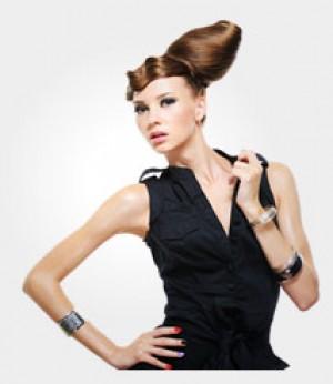 Fashion Dress-Brown
