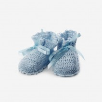 Blue Baby Winter Shoes