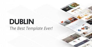 DUBLIN – HTML Template