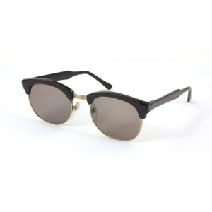 Matte Browline Sunglasses