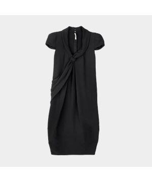 Woman Black Blouse