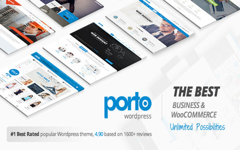 Pport Po Template | Portotheme Best Wordpress Themes
